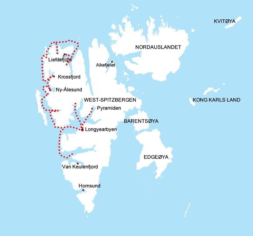 Karte-Spitzbergen-Fotoreise