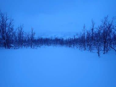 Nordnorwegen-Stille_Schneelandschaft