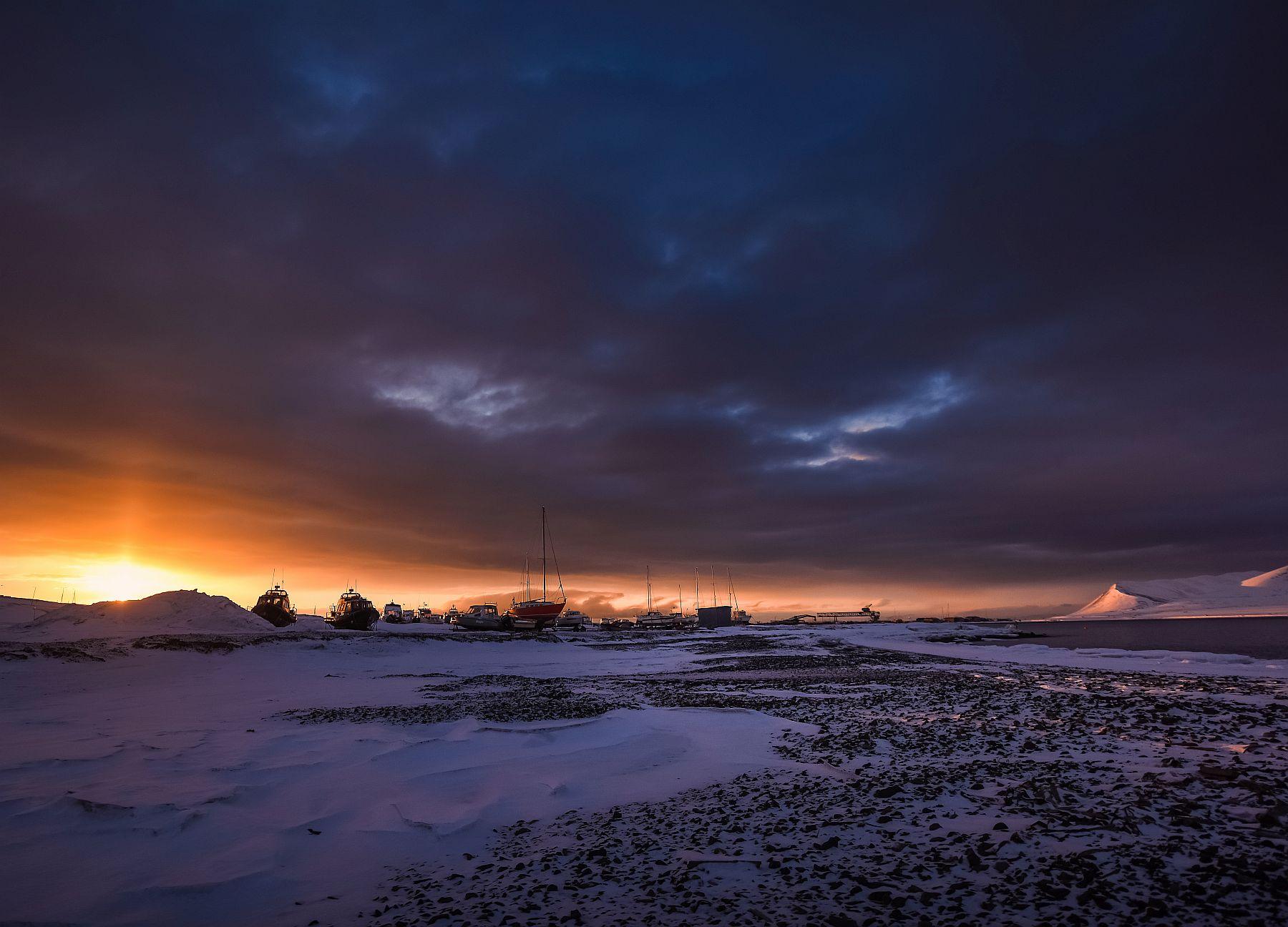 Wenn das Licht zuück kommt in Spitzbergen, Birgit Lutz